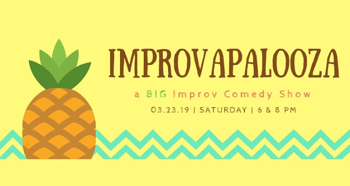 text: Improvapalooza - BIG Improv Comedy Show
