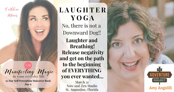 Text about Rid Negativity, get more Energy and have Fun through Laughter Yoga!