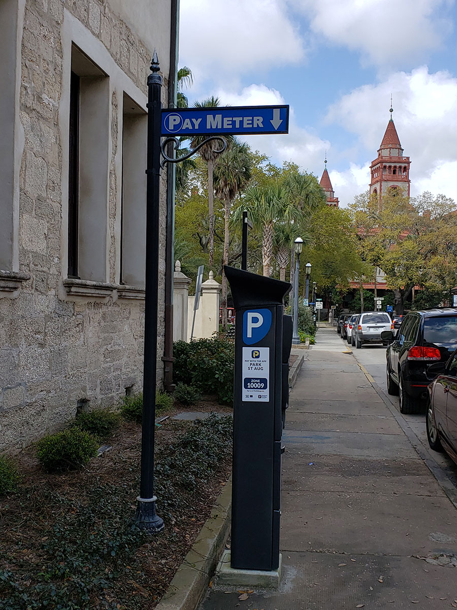 La Parking Enforcement >> St. Augustine Parking Information | St. Augustine, Florida