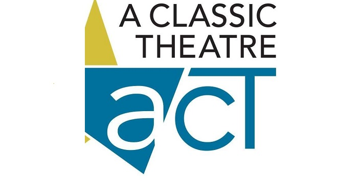 text in black, A Classic Theatre, act