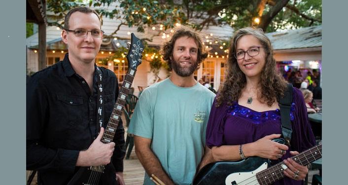 image of 2 men, 1 women; Matt Van Rysdam, Trey Moore, and Elizabeth Roth