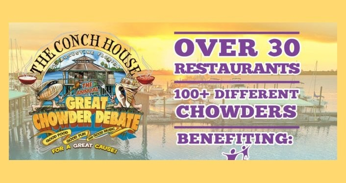 Image of Conch House Logo with Great Chowder Debate, Over 30 Restaurants, 100+ different chowders
