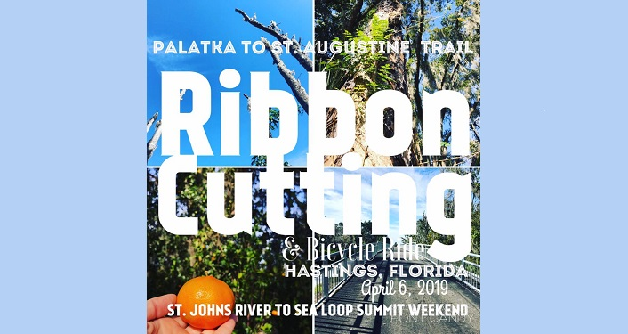 Text Ribbon Cutting, Hastings, Florida, April 6, 2019