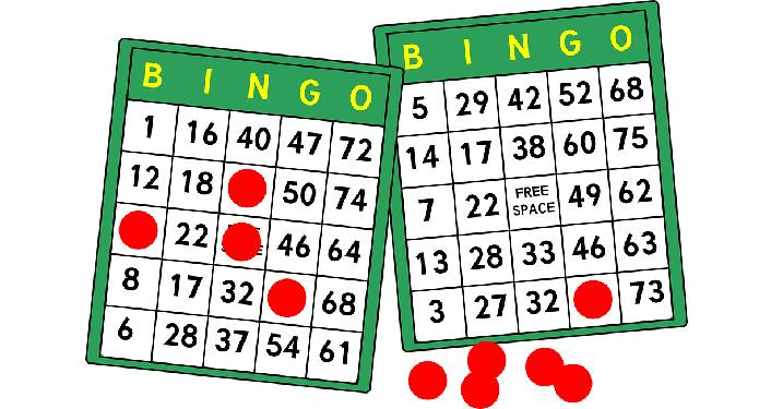 Image of 2 BINGO cards