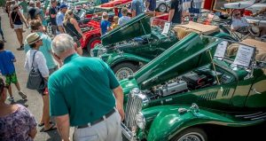 image of cars and spectators at Ponte Vedra Auto Show