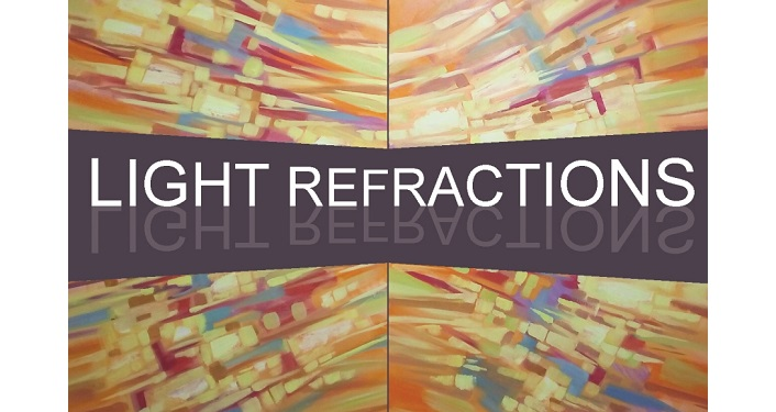 artwork by Anna Miller with title of Light Refractions