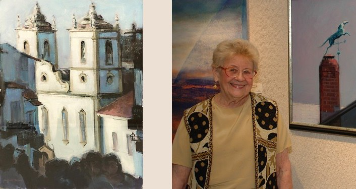 image of San Salvador by Jean Wagner Troemel as well as image of her