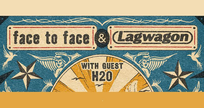 text Face to Face and Lagwagon with guest H20