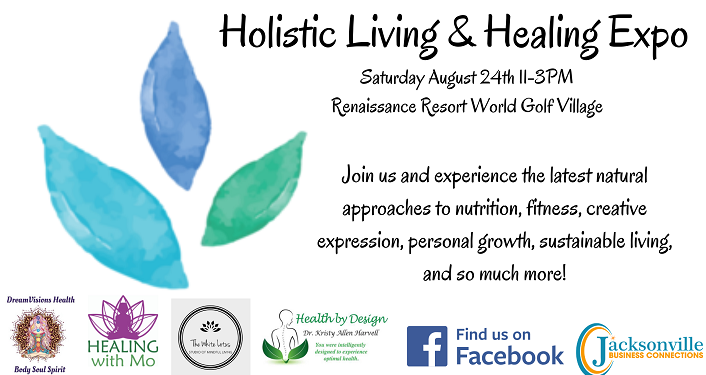 text, Holistic Living & Healing Expo