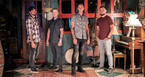 photo of Rock Alternative Bluegrass group Monroeville, four young men