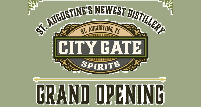text City Gate Spirits Grand Opening, St. Augustine's Newest Distillery