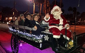 Nights of Lights Wine & Carriage Rides
