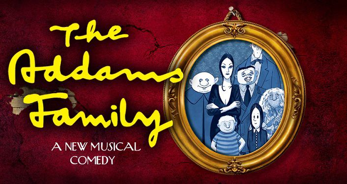 cartoon image of The Addams Family