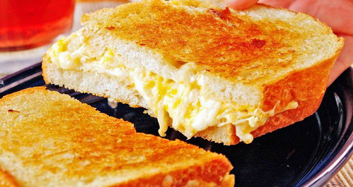 Toasted cheeze sandwich; Teen Cooking Virtual Challenge - Sweet & Savory Toasted Delights Challenge