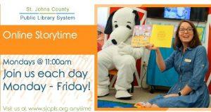Library Facebook Live Online Storytime