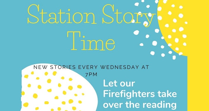 St. Johns County Fire Rescue Station Story Time