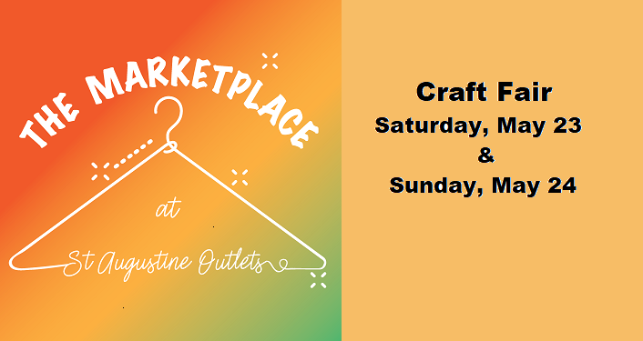 Craft Fair hosted by The Marketplace at St. Augustine Outlets