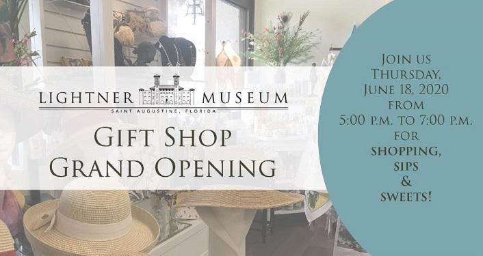 Lightner Museum Gift Shop Grand Opening