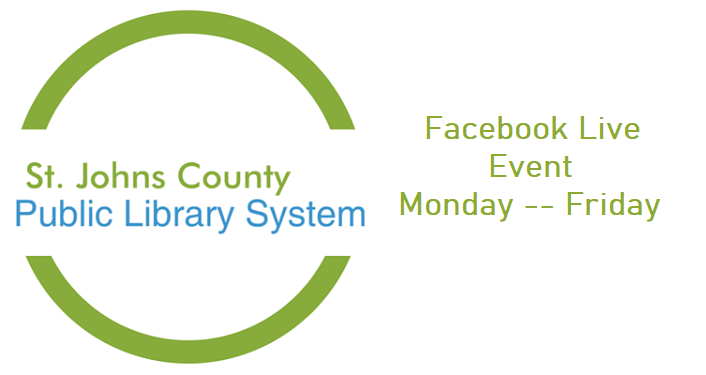 St. Johns County Public Library Facebook Live Event