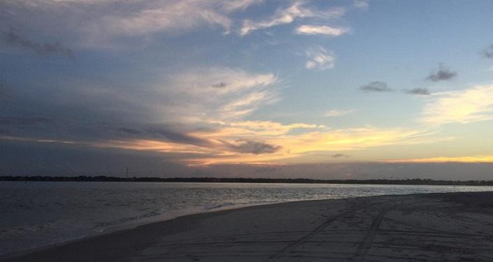 Sunset Under the Sea Walk