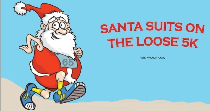Santa Suits on the Loose 5K 2020