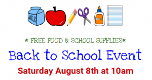 Back to School Event for Hastings, Armstrong, & Elkton children