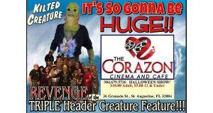 Triple Header Creature Feature!