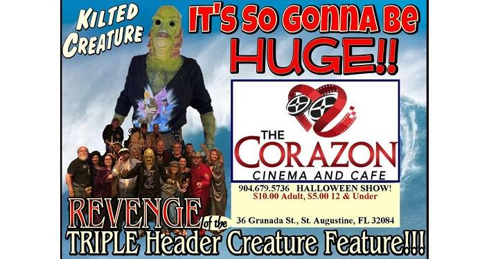 Triple Header Creature Feature!