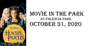 Movie in the Park - Hocus Pocus