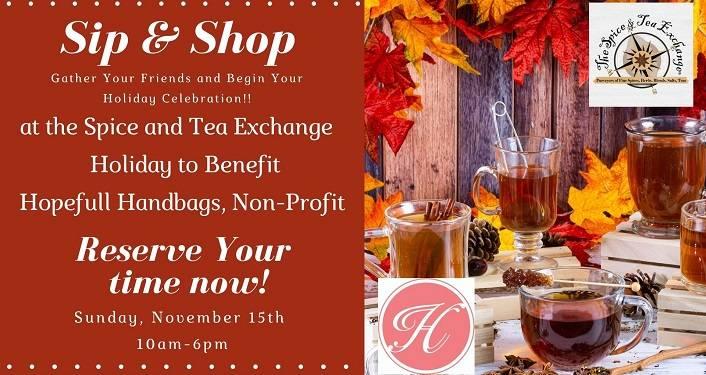 Exclusive Holiday Sip & Shop