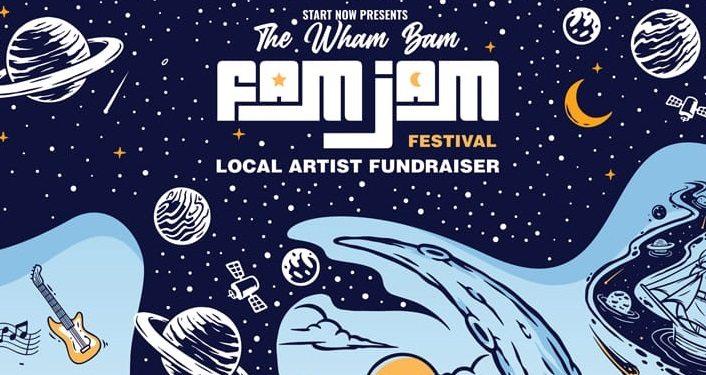 Bam Fam Jam Festival...Local Artists Fundraiser
