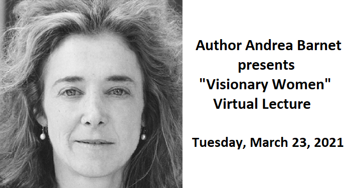 """""""Visionary Women"""" Virtual Lecture"""