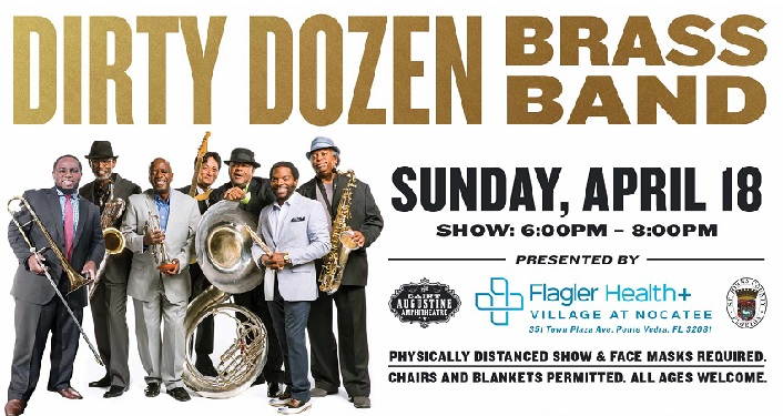 Dirty Dozen Brass Band at Nocatee