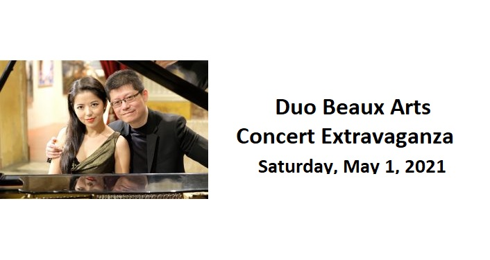 Duo Beaux Arts Concert Extravaganza