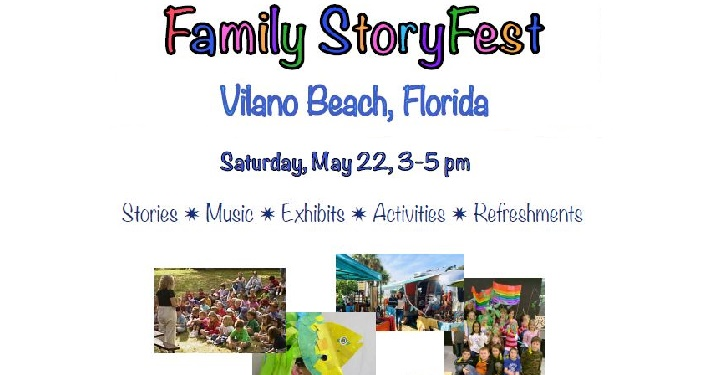 Family StoryFest at Vilano Beach