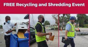 Free Recycling & Shredding Event