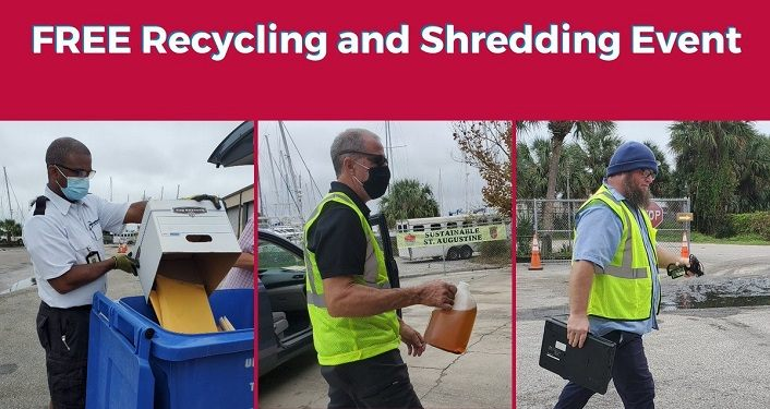 Free Recycling & Shredding Event