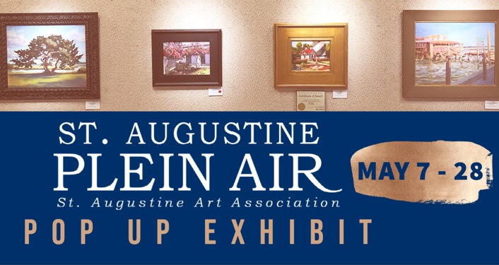 St. Augustine Plein Air Pop Up Exhibit