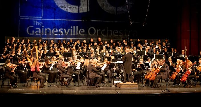 Gainesville Orchestra at the Amp