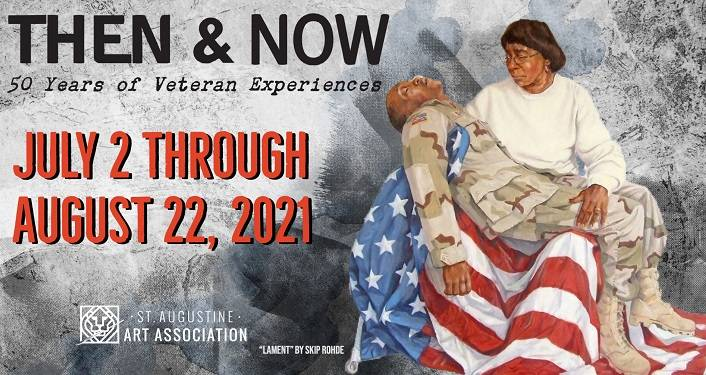 Then & Now: 50 Years of Veterans Experiences Exhibit.
