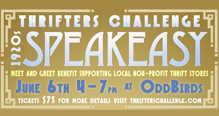 1920's Speakeasy Thrifters Challenge