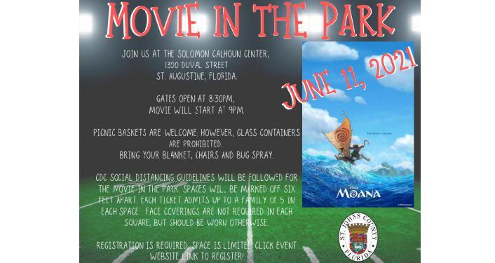 Movie In the Park - Moana