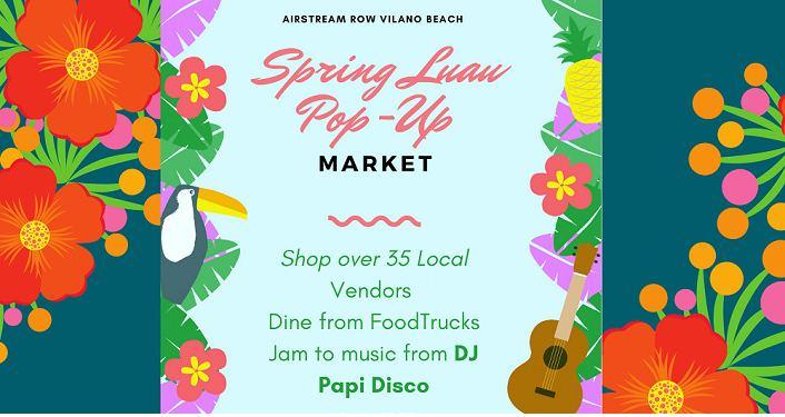 Spring Luau Pop-Up Market