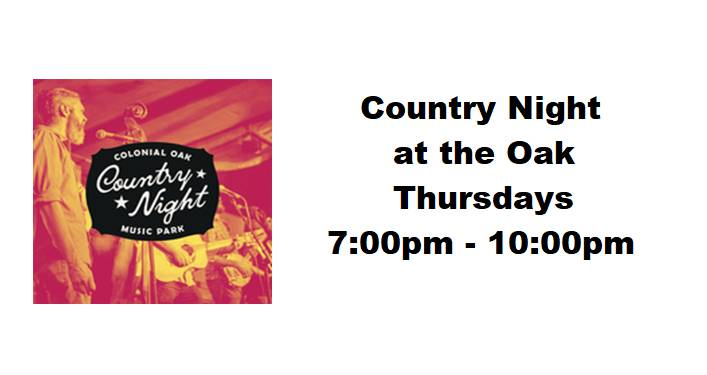 Country Night at the Oak