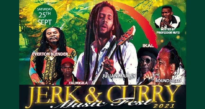Jerk and Curry Music Fest 2021