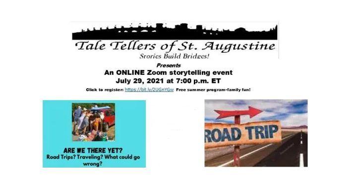 Tale Tellers Zoom Storytelling Event