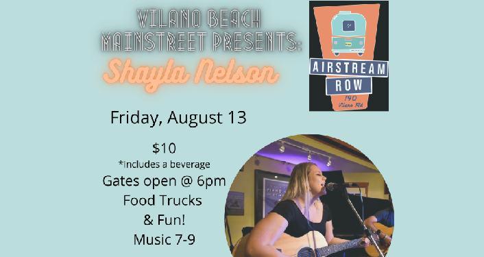 Shayla Nelson at Airstream Row