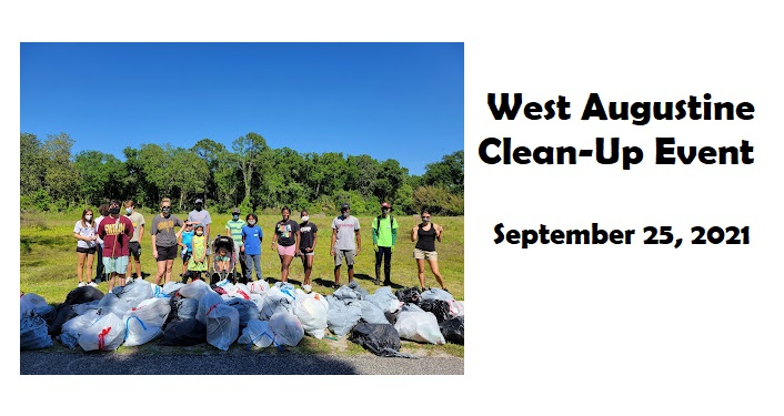 West Augustine Clean-Up Event