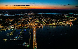 First City Helicopters Nights of Lights Tour