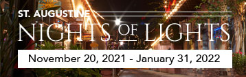St. Augustine Nights of Lights 2021